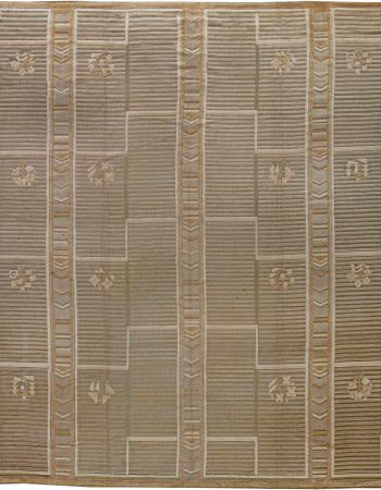 Vintage High-Low Scandinavian Rug BB6225