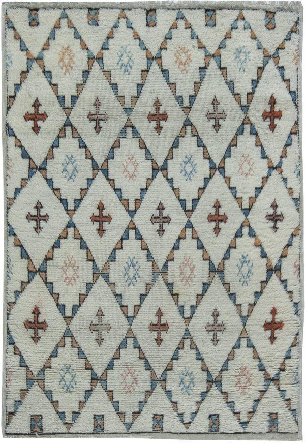 Vintage Moroccan Rug BB6346