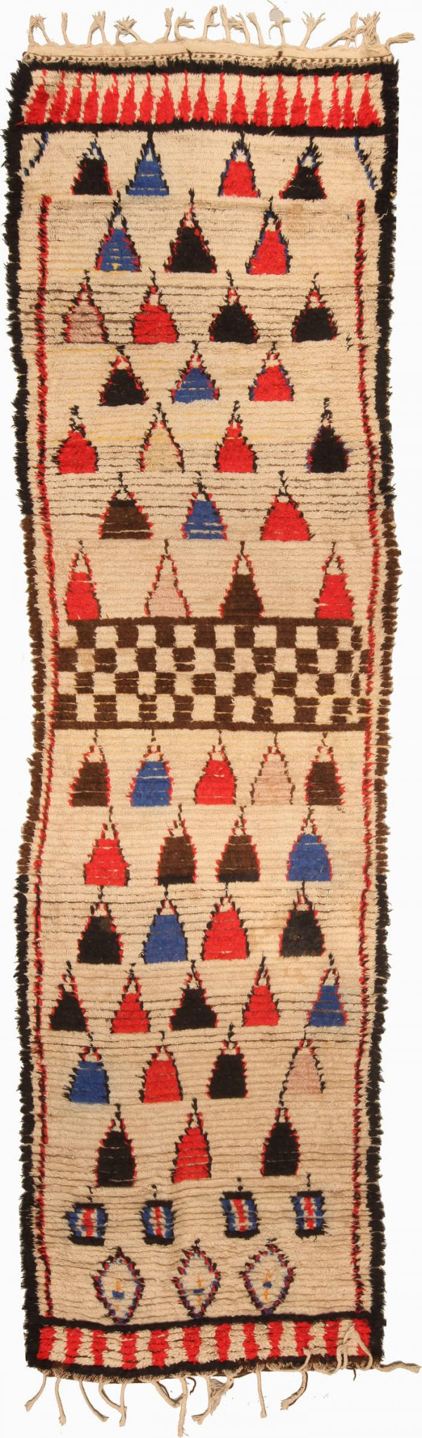 Vintage marroquino Tapete BB5134