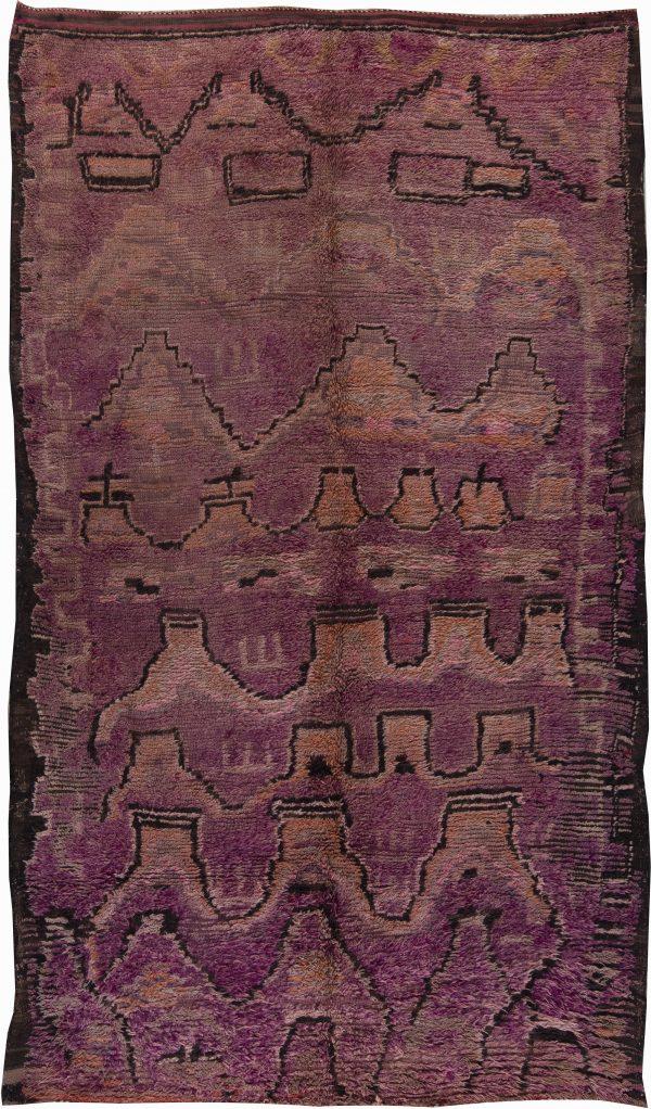 Vintage Moroccan Rug BB6220