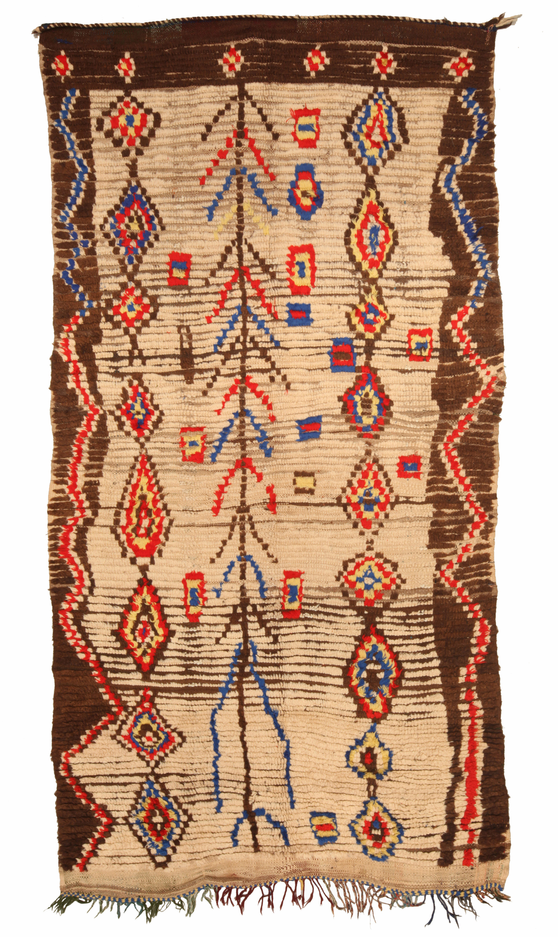 Vintage Moroccan Rug Bb5140 By Dlb