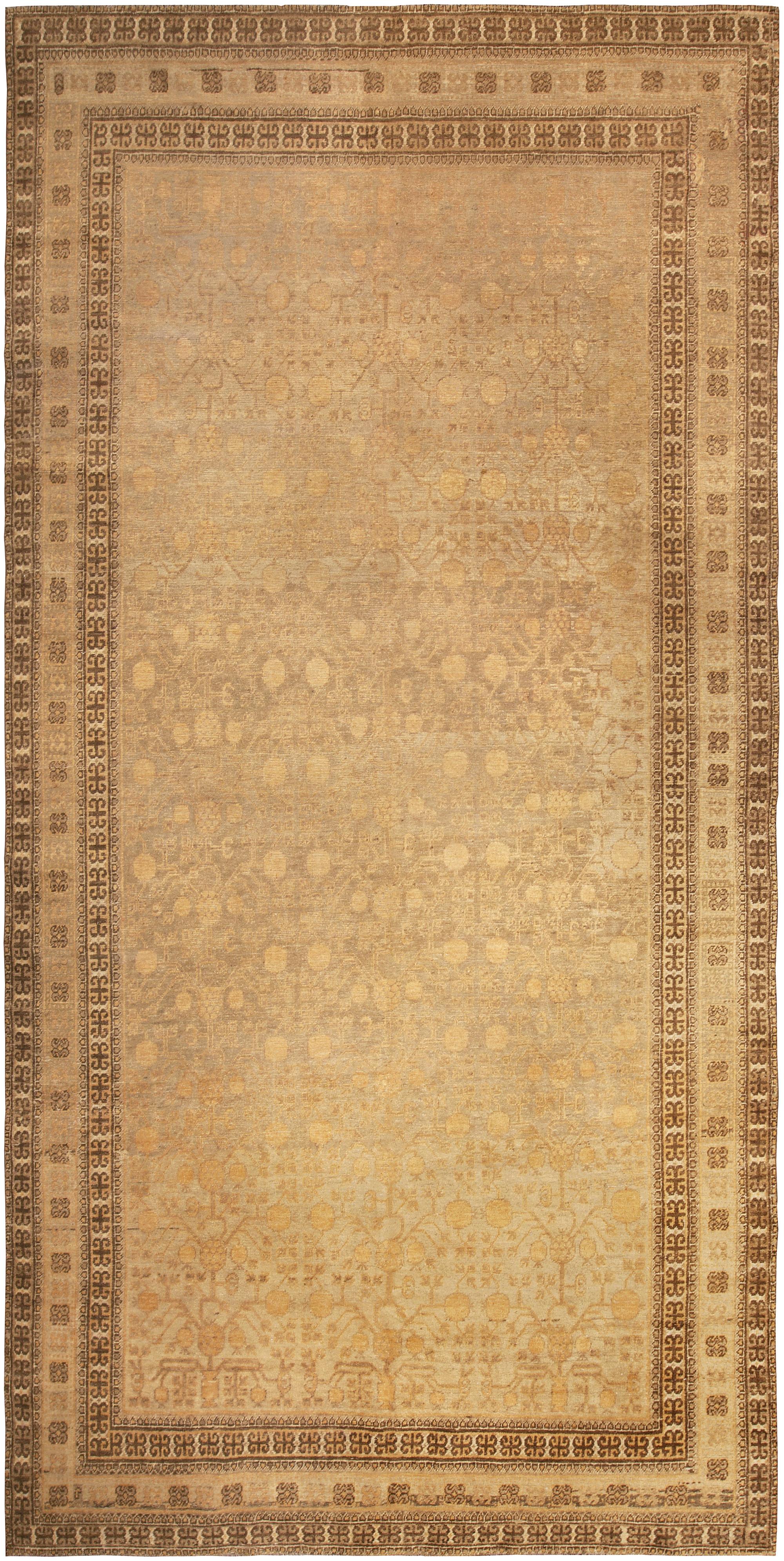Vintage Samarkand (Khotan) Rug BB4968