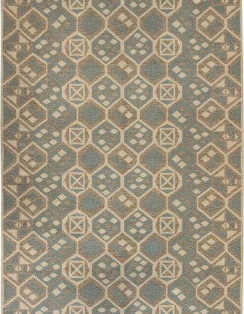 Vintage Swedish Flat Weave doppelseitiger Teppich BB6403