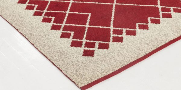 Vintage Swedish Flat Weave Double Sided Rug BB6540
