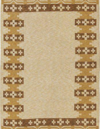 Vintage Swedish Flat Weave Rug BB6577
