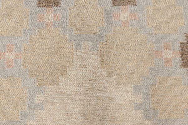 Weinlese-schwedische Flachgewebe Teppich BB6576