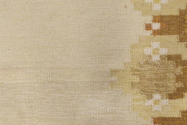 Vintage Swedish Flat Weave Rug BB6570