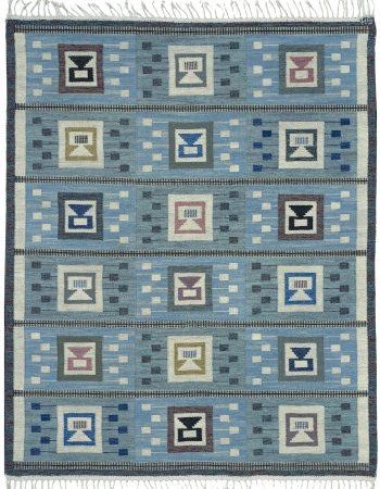 Swedish flat woven Rug by Edna Martin BB4722