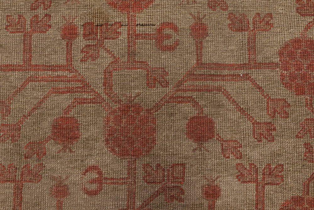 Vintage Samarkand Rug BB6452