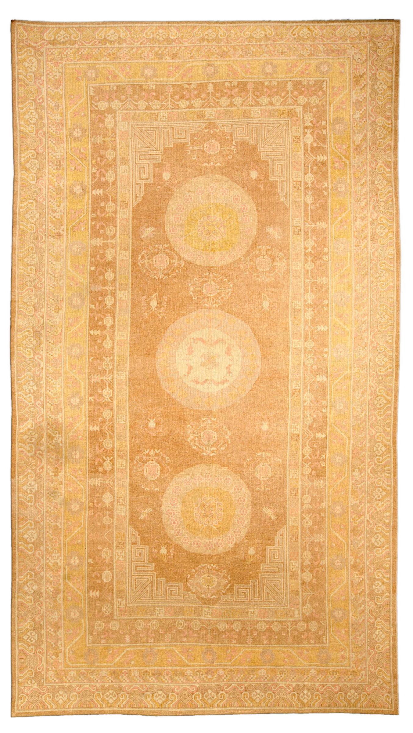Vintage Samarkand (Khotan) Rug BB4118