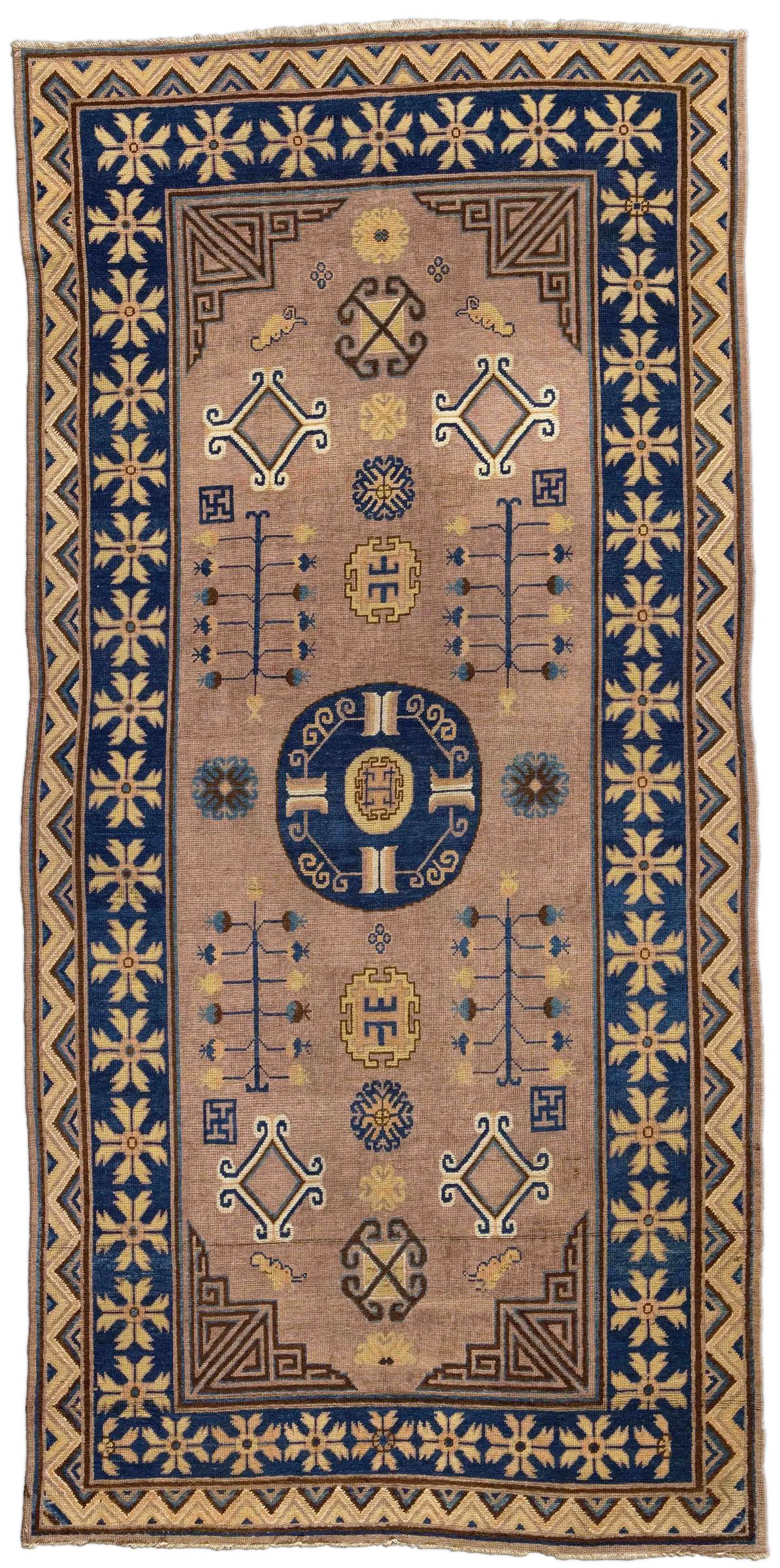 Vintage Samarkand (Khotan) Rug BB4375