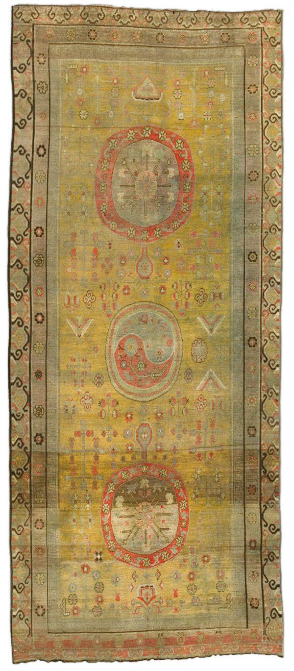 Vintage-Samarkand (Khotan) Rug BB4385
