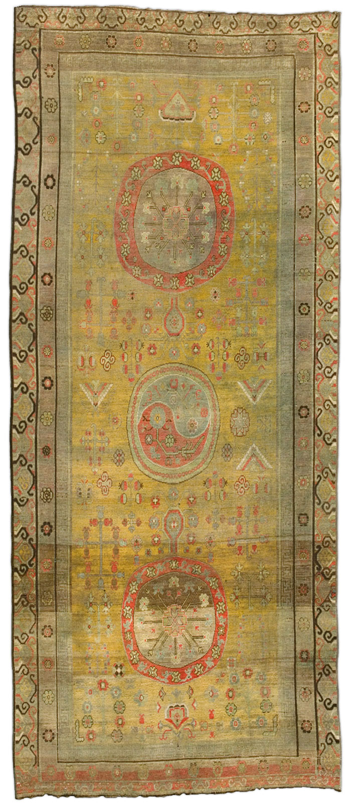 Vintage Samarkand (Khotan) Rug BB4385