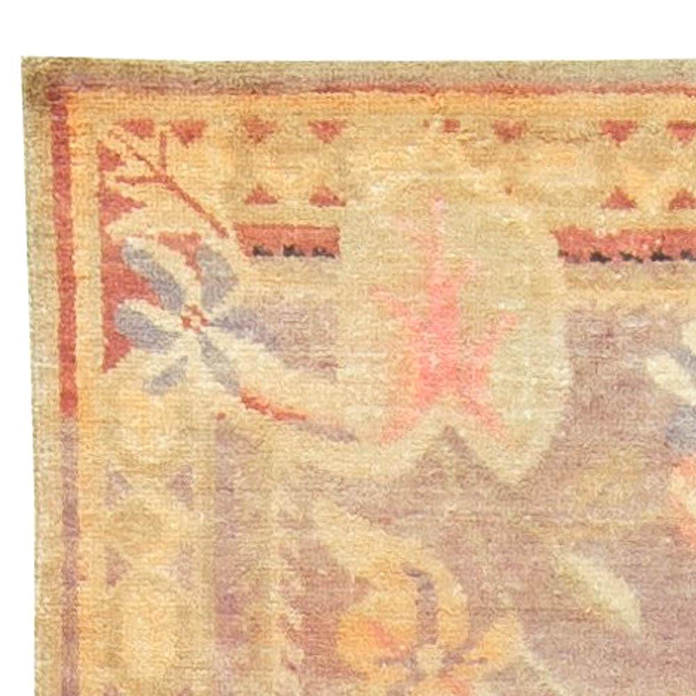Vintage Silk Samarkand (Khotan) Rug BB6052