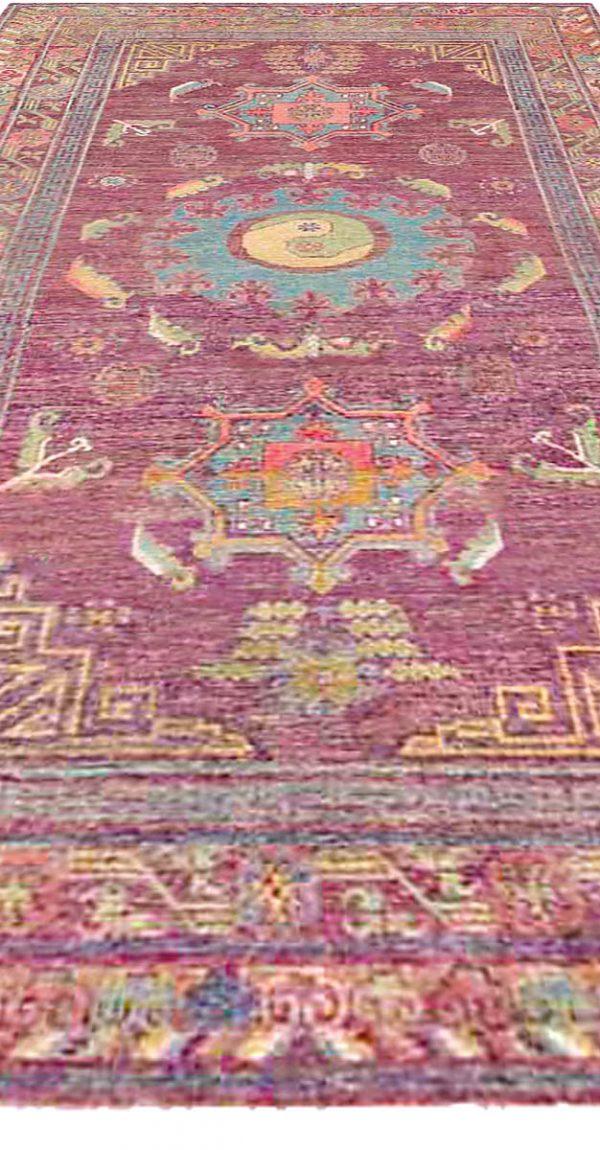 Vintage Silk Samarkand (Khotan) Rug BB4367