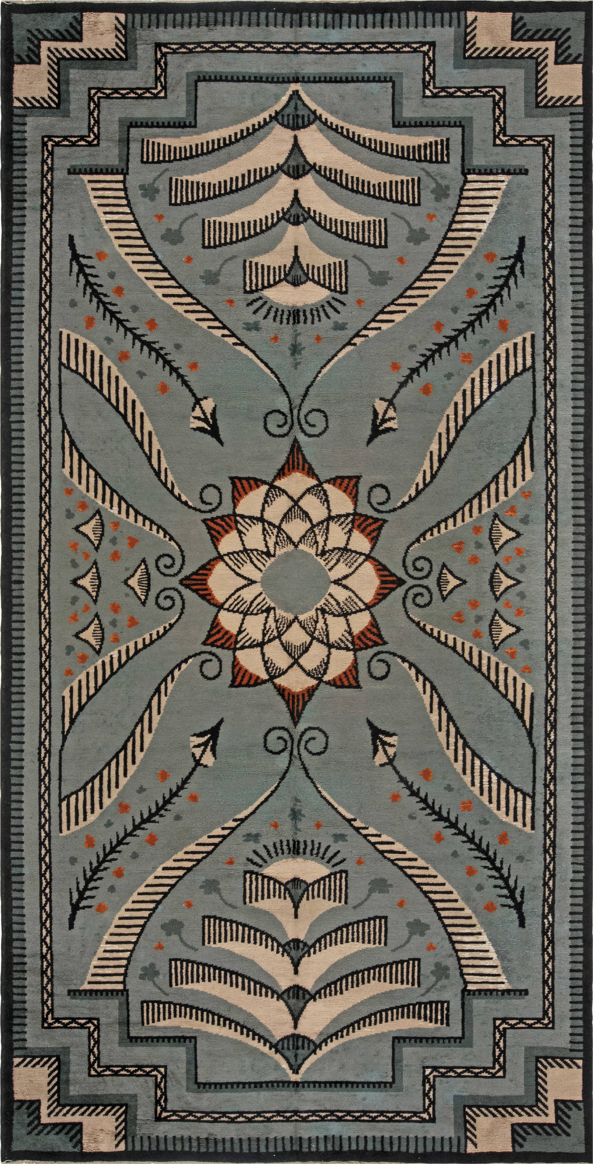 Vintage Viennese Carpet BB1024