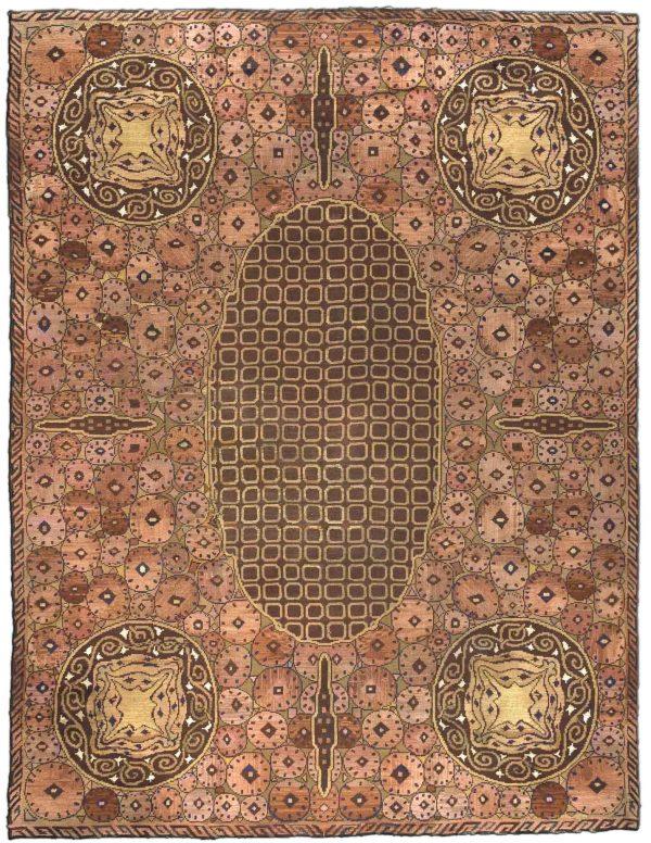 Vintage Viennese Carpet BB2246