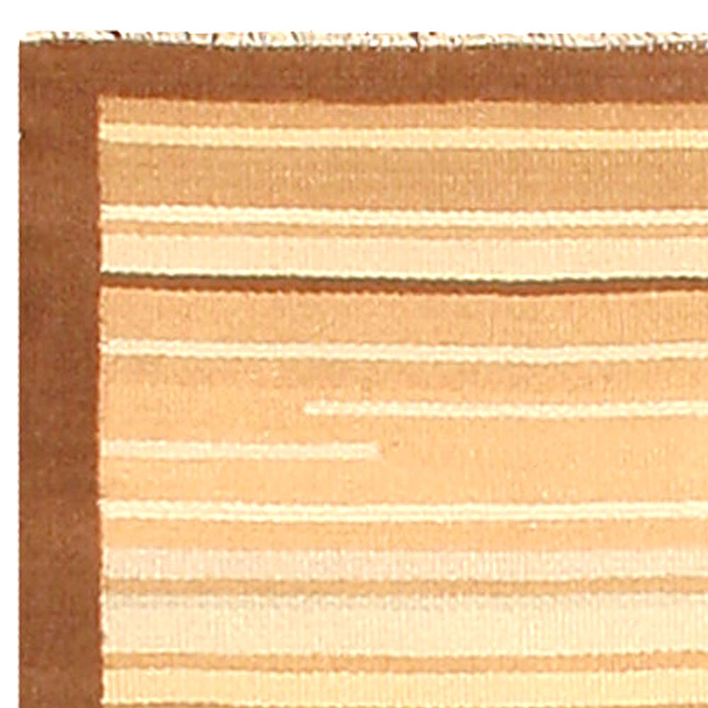 Mid-century Finnish Brown & Beige Rug BB4757