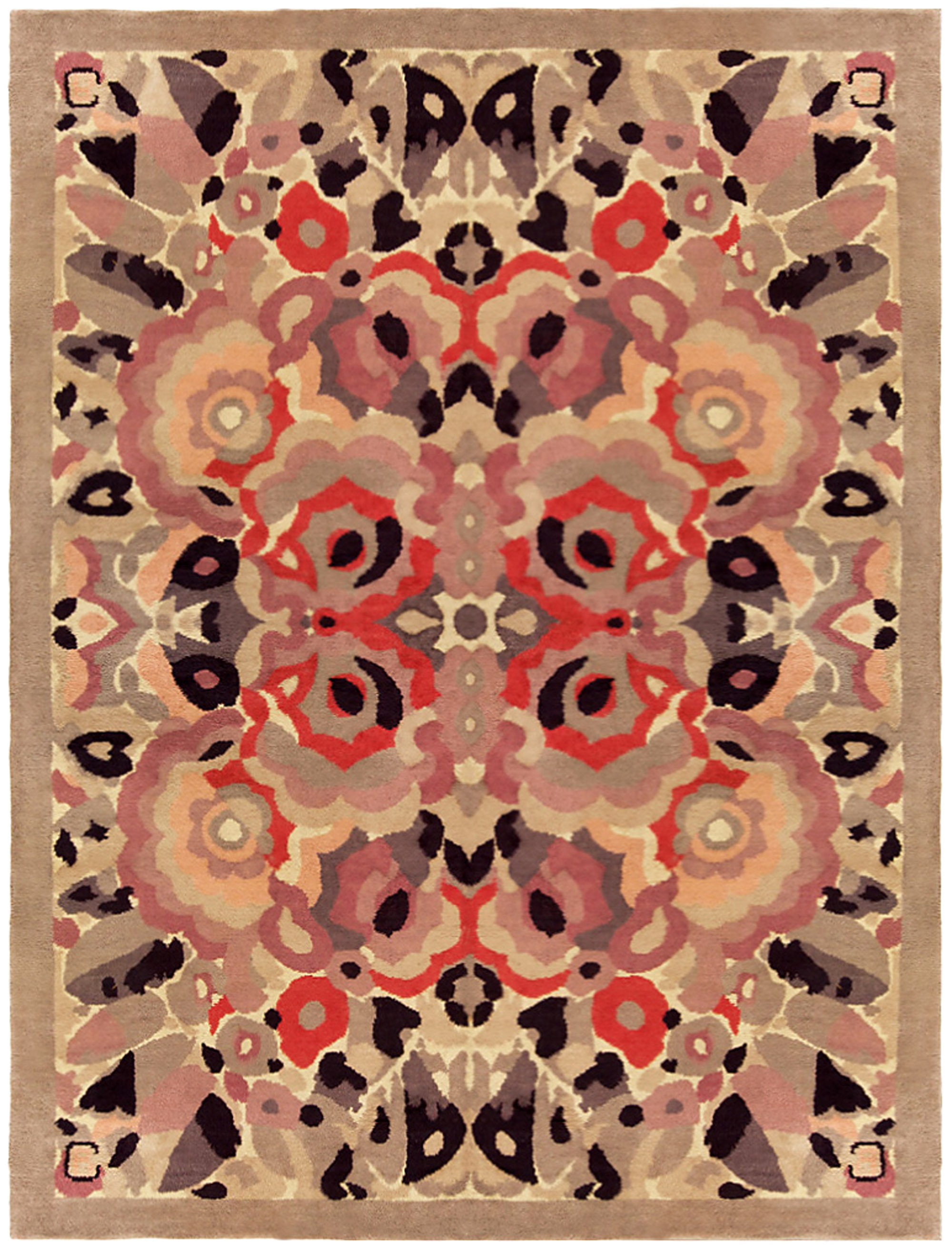 Vintage French Art Deco Rug BB4697