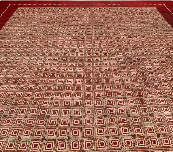 Vintage French Deco Rug by Paule Leleu BB5305