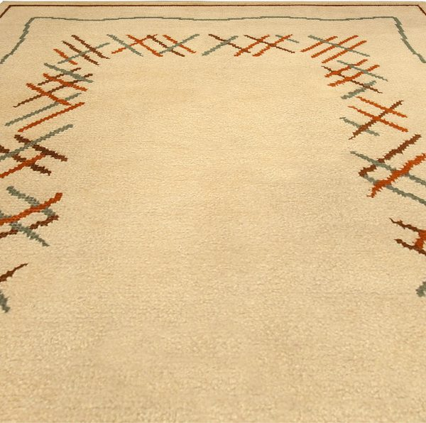 Vintage French Art Deco Rug BB4917