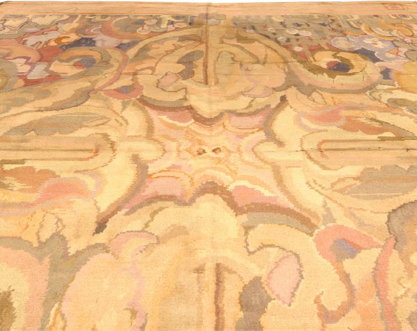 Vintage Art Deco Rug designed by Frank Brangwyn BB4341