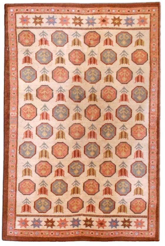 Vintage Scandinavian Carpet BB3283