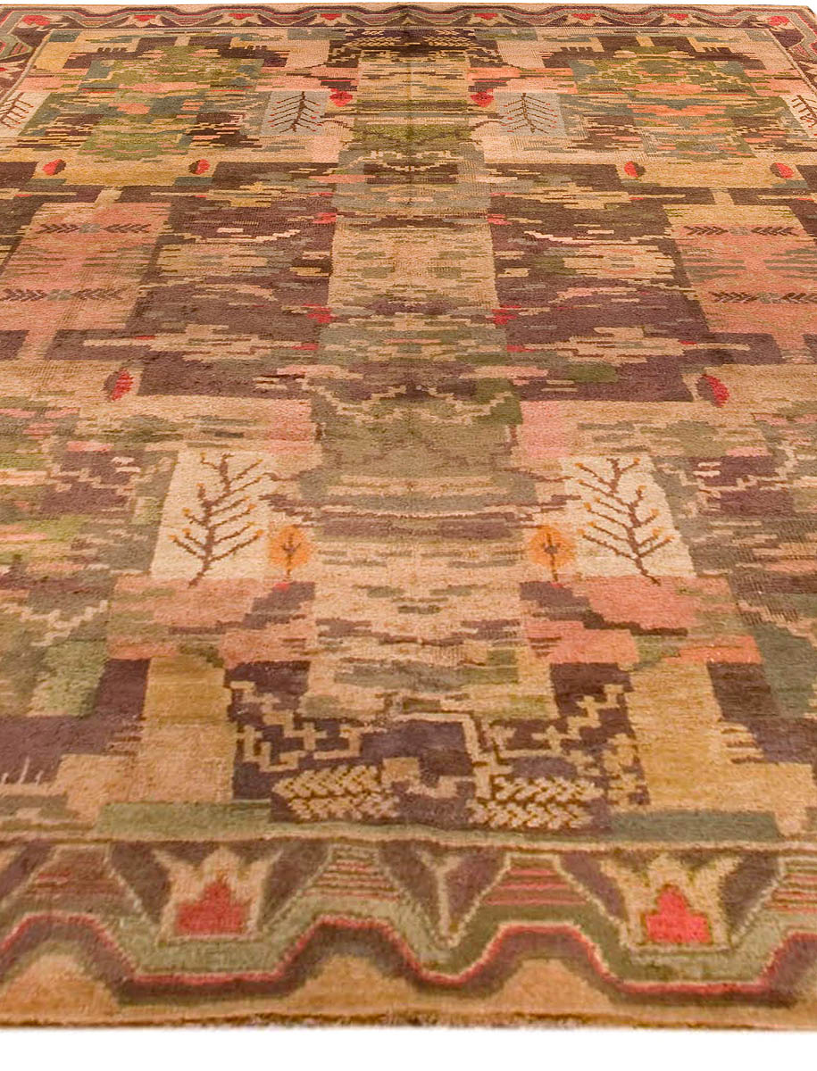 Vintage Swedish Carpet BB3612