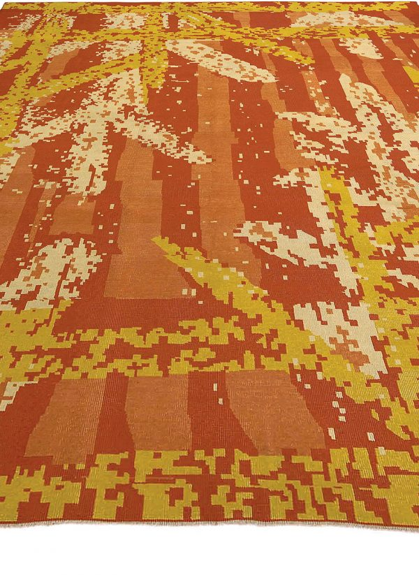 Vintage French Art Deco Rug BB3141