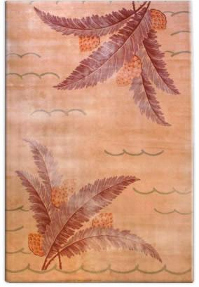 Vintage French Deco Carpet BB3054