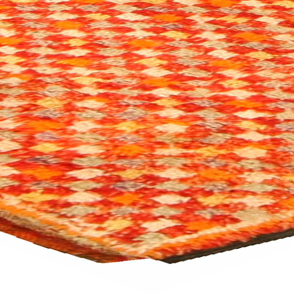 Orange Vintage Moroccan Rug BB4693