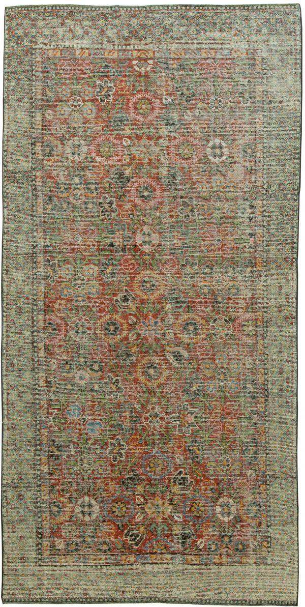 Silk Samarkand Weinlese Rug BB6065