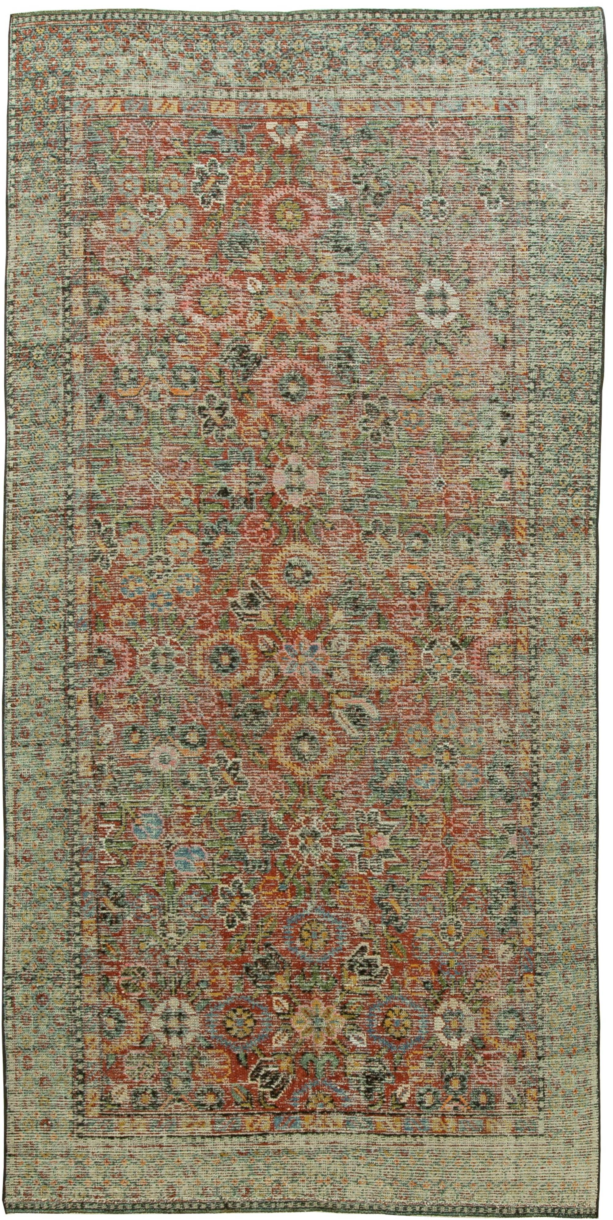 Silk Samarkand Vintage Rug BB6065