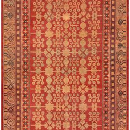 Vintage Silk Samarkand (Khotan) Rug BB4858