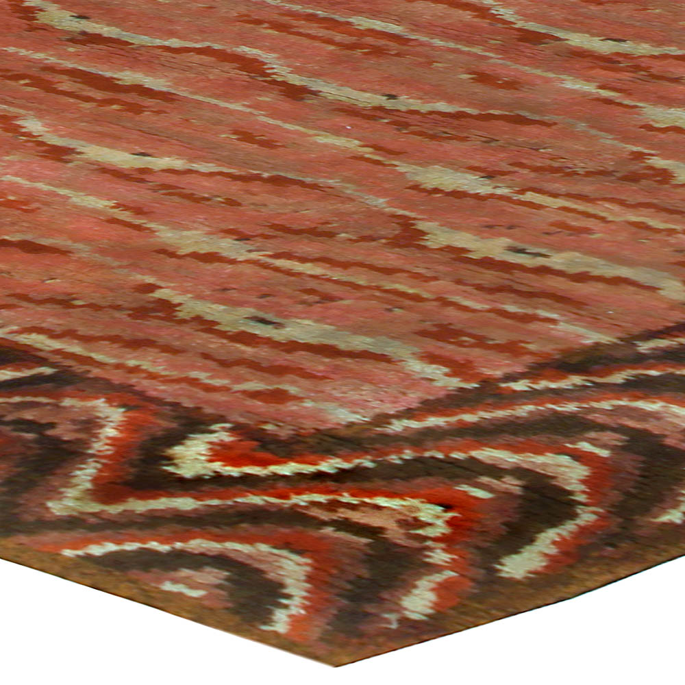 Vintage Swedish Pile Rug BB5279