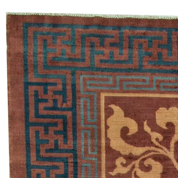 Vintage Chinese Deco Rug BB5947