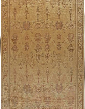 Donegal Irish Vintage Rug BB5548