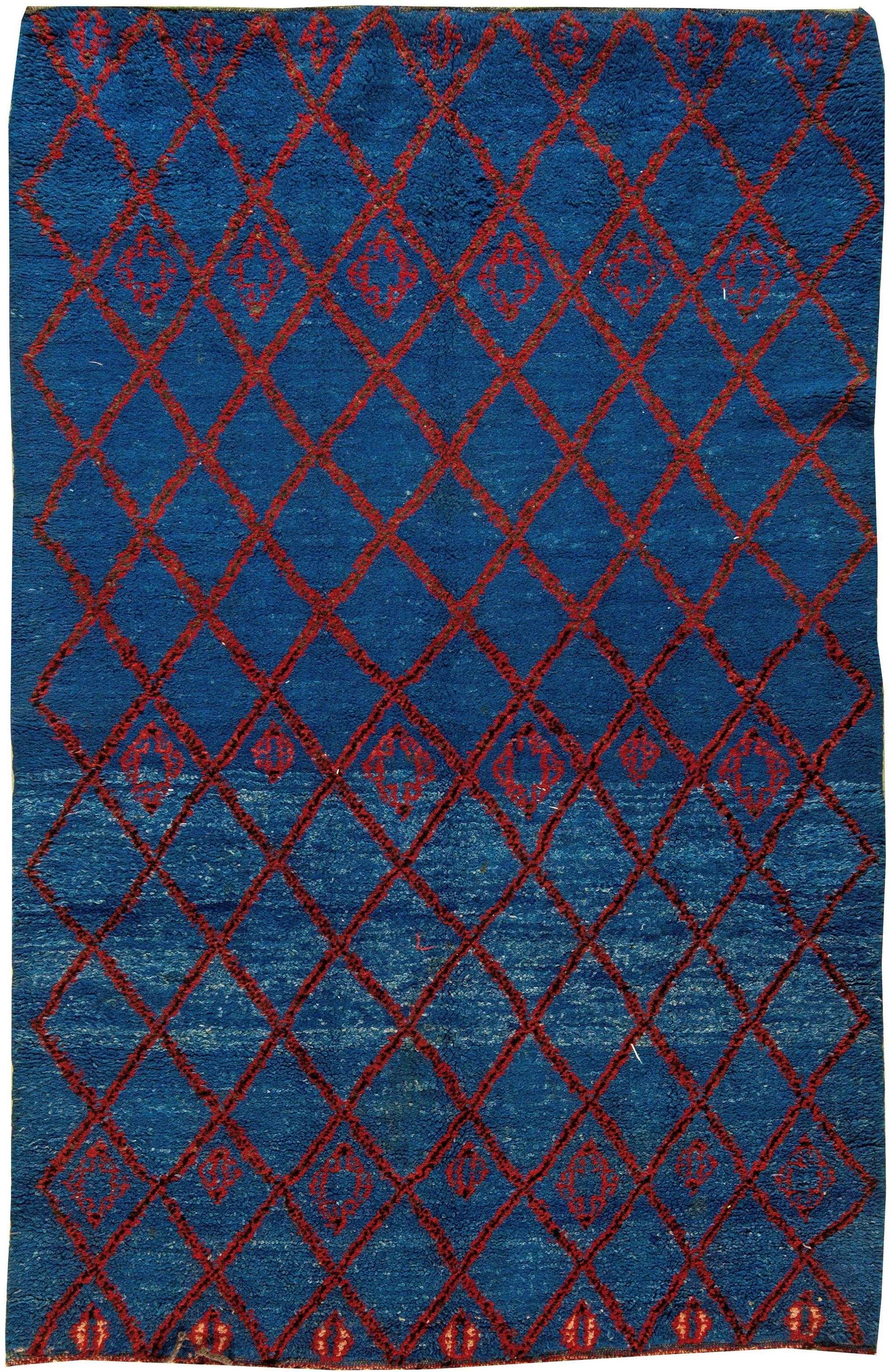 Vintage Moroccan Rug BB5846