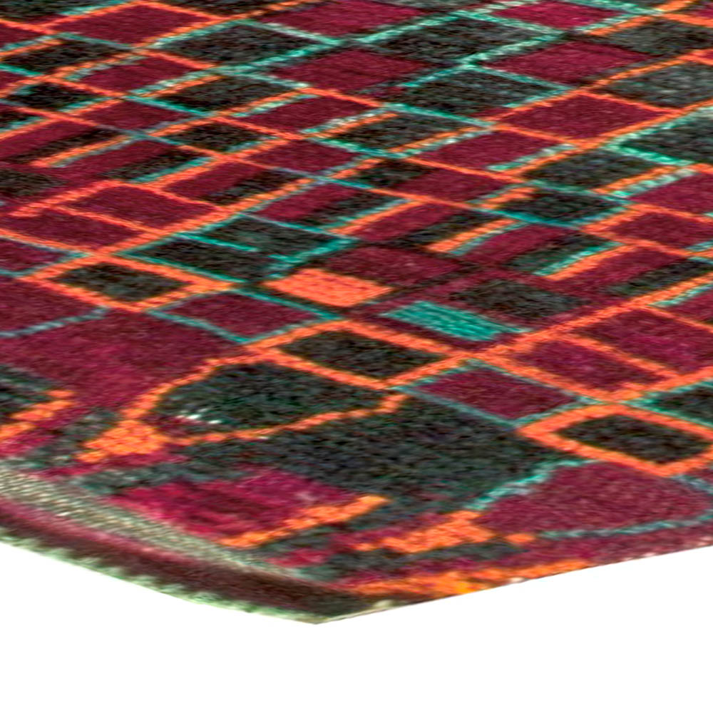 Vintage Moroccan Rug BB5884 By Doris Leslie Blau