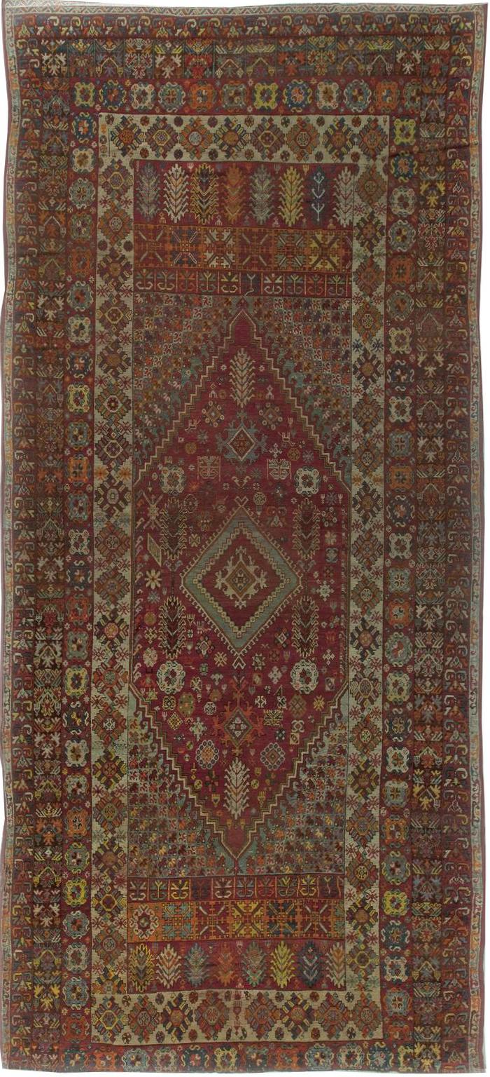 Vintage Moroccan Rug BB5966