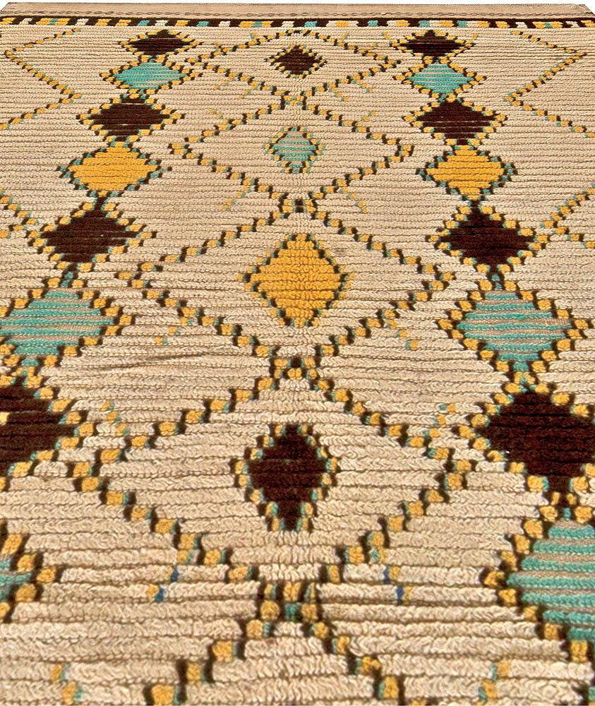 Vintage Moroccan Rug BB5765 By Doris Leslie Blau