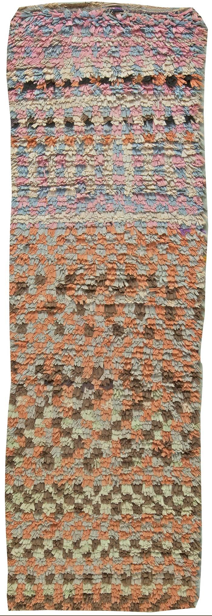 Moroccan Vintage Runner Rug BB5898