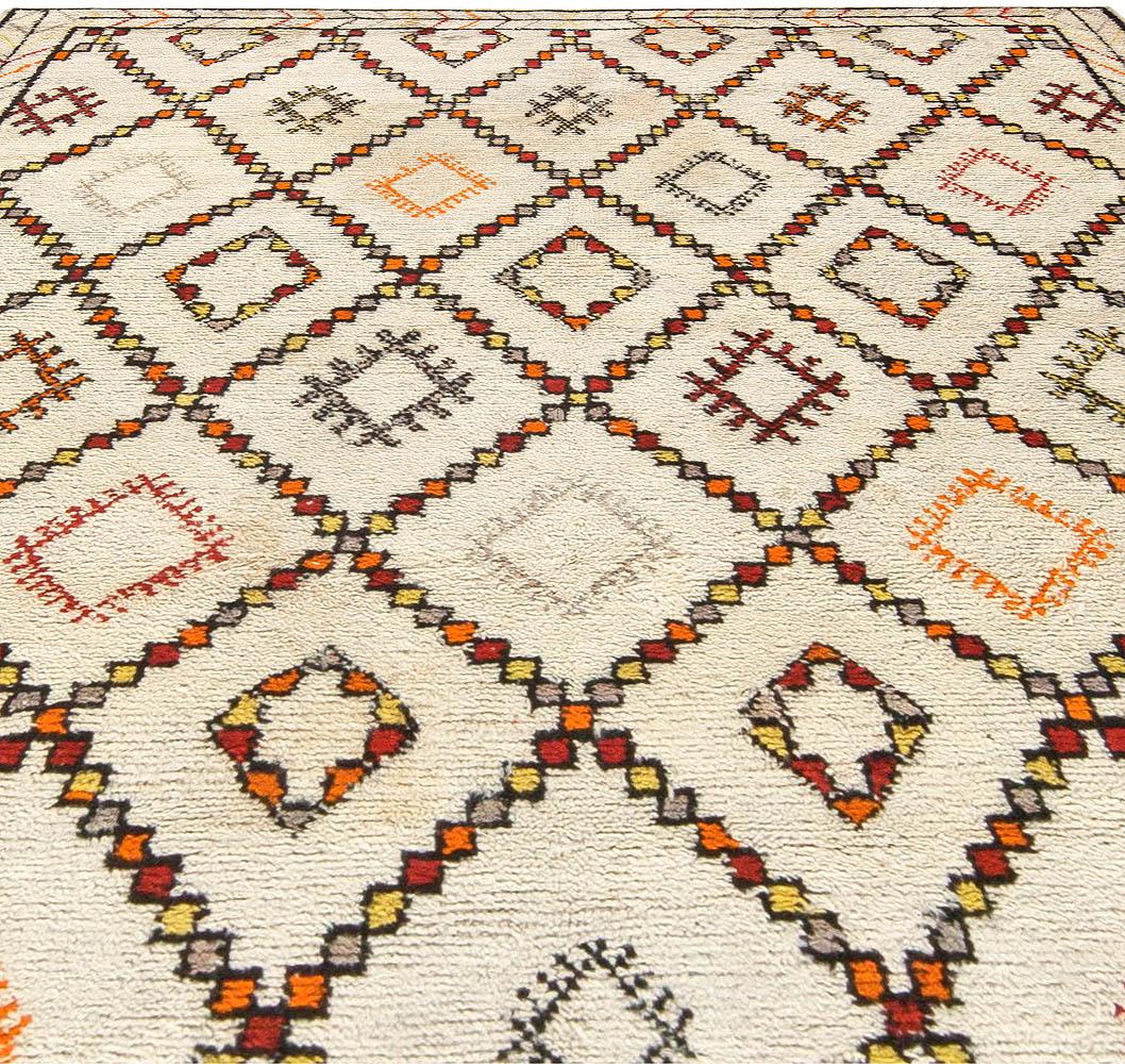 Vintage Moroccan Rug BB5742 By Doris Leslie Blau