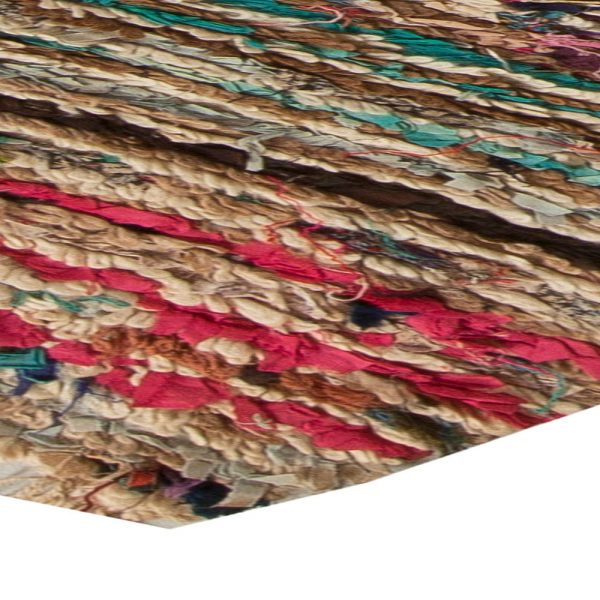 Vintage Moroccan Rag Rug BB5479