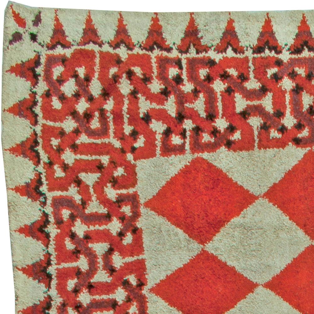 Rag Rug Prices: Oversized Vintage American Rag Rug BB5593 By Doris Leslie Blau
