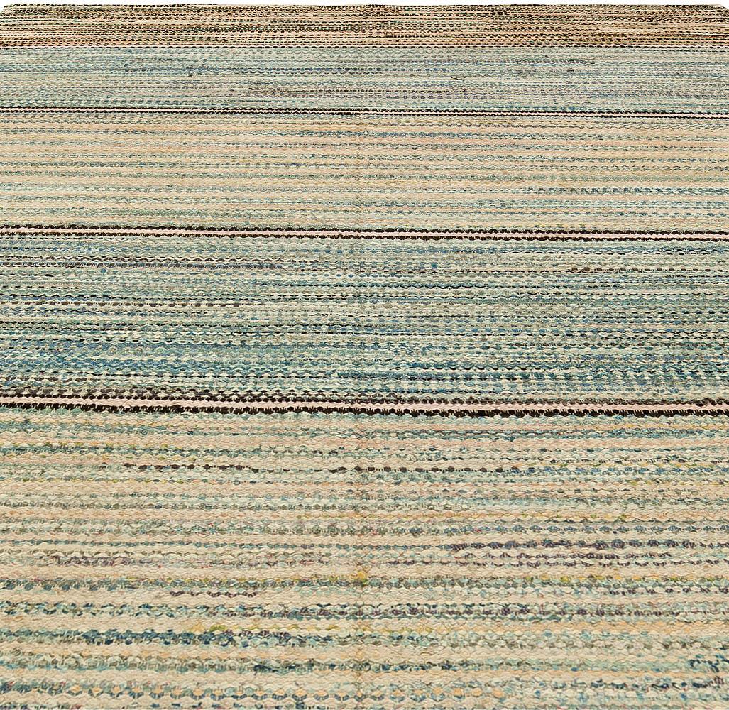 Vintage American Rag Rug BB6147 By Doris Leslie Blau