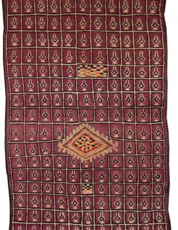 Vintage marroquino Tapete BB4796