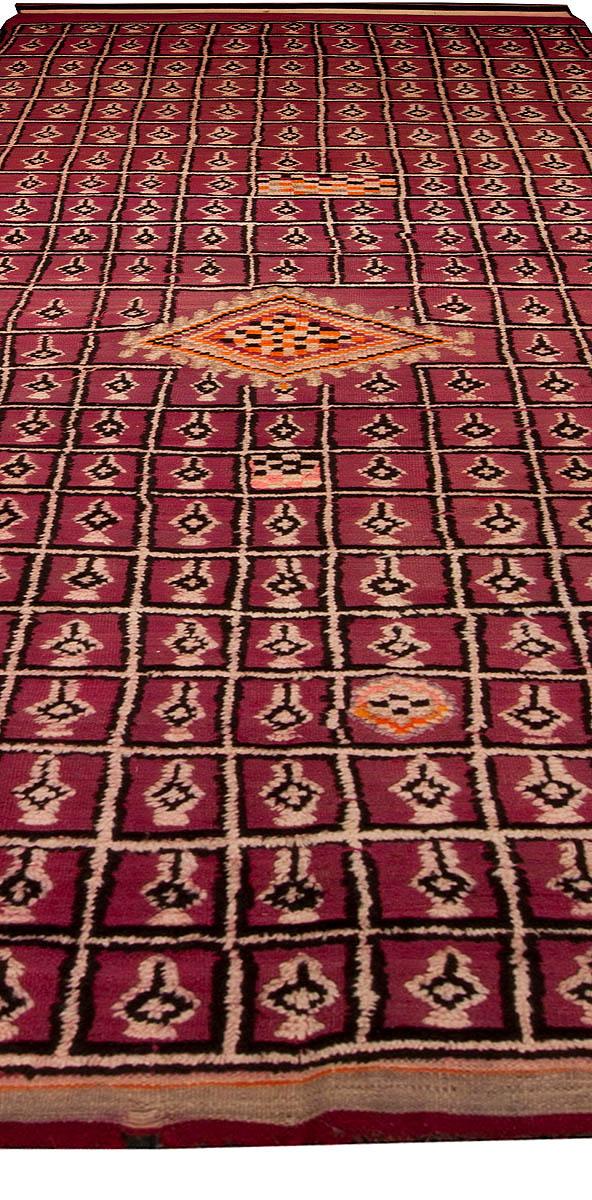Vintage Moroccan Rug BB4796