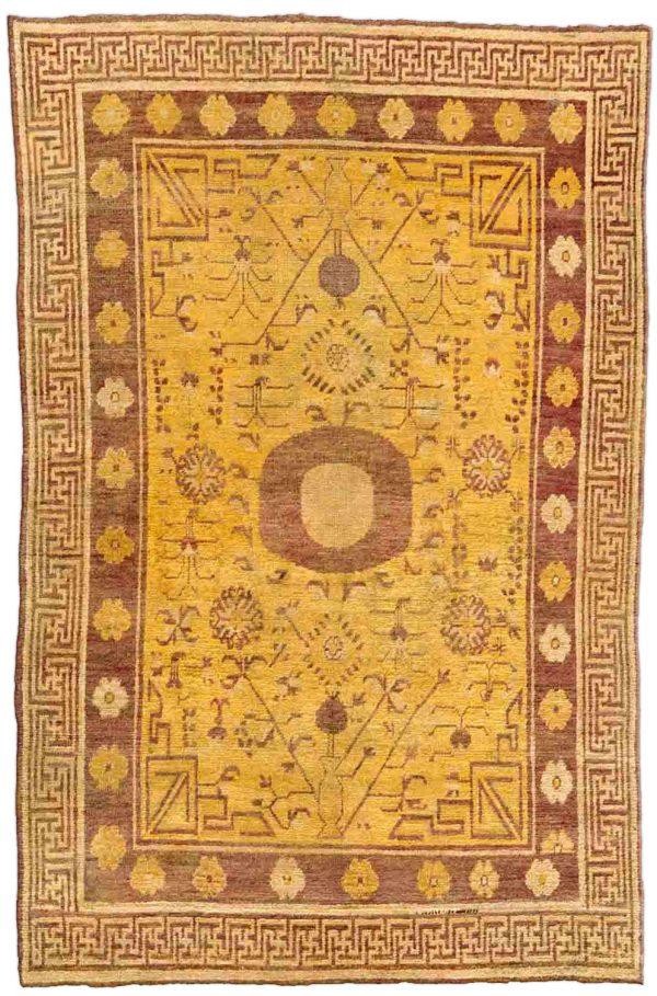 Samarkand (Khotan) BB4381 Tapete Vintage