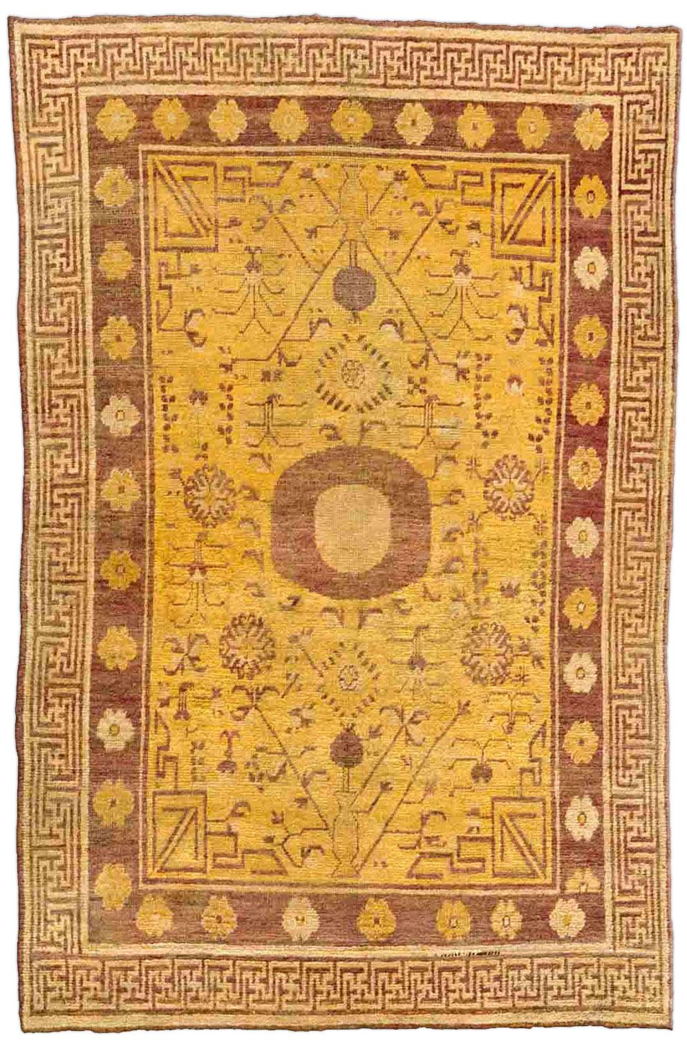 Vintage Samarkand (Khotan) Carpet BB4381
